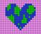Alpha pattern #36665 variation #40080