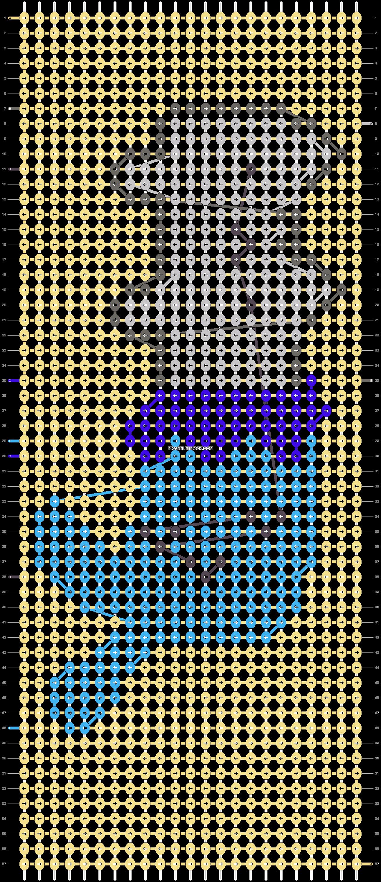 Alpha pattern #37449 variation #40595 pattern