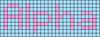 Alpha pattern #696 variation #40860
