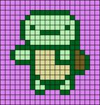 Alpha pattern #34881 variation #40973