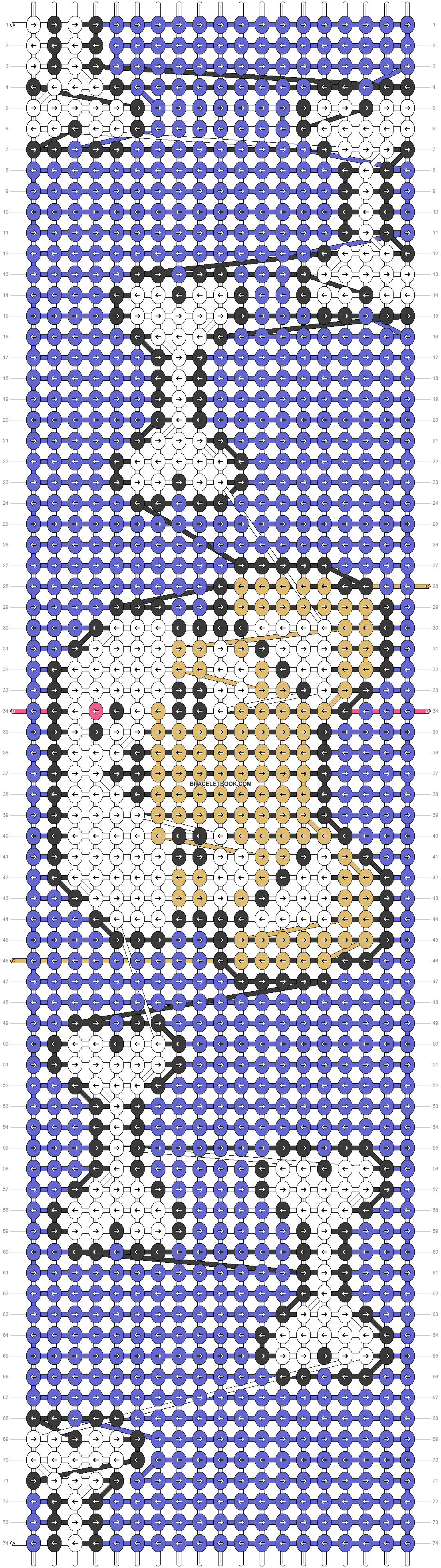Alpha pattern #25252 variation #41557 pattern