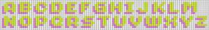 Alpha pattern #34279 variation #41952