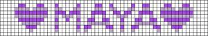 Alpha pattern #5800 variation #42634
