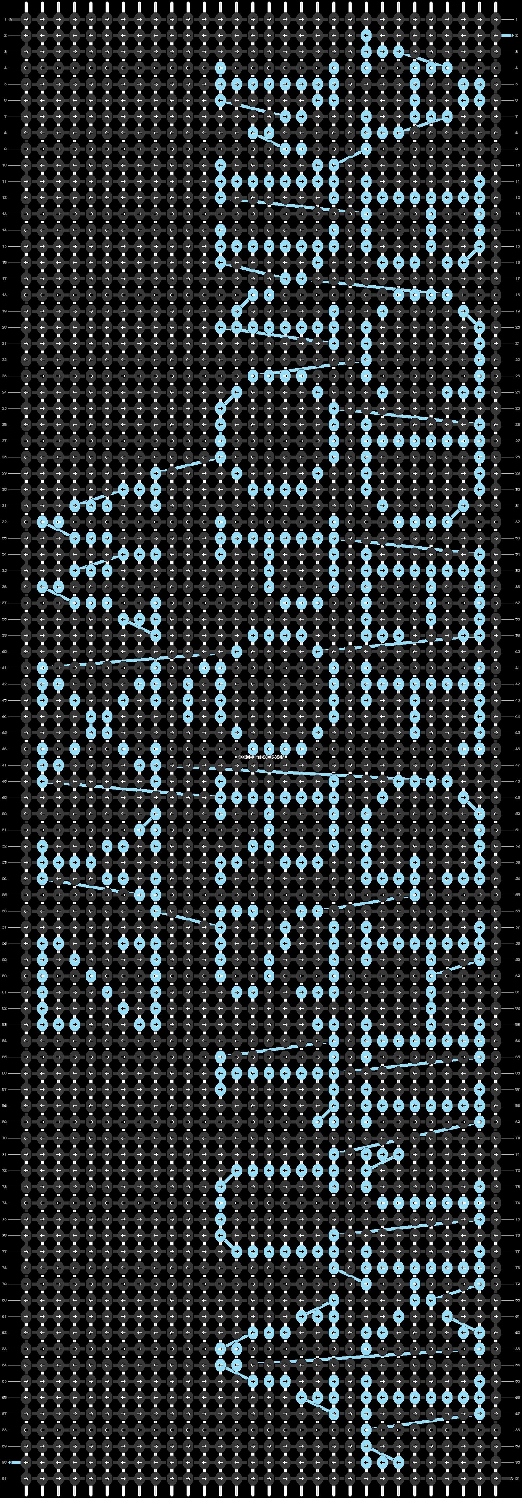 Alpha pattern #29539 variation #42643 pattern