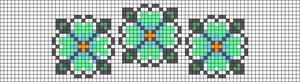 Alpha pattern #12042 variation #43023