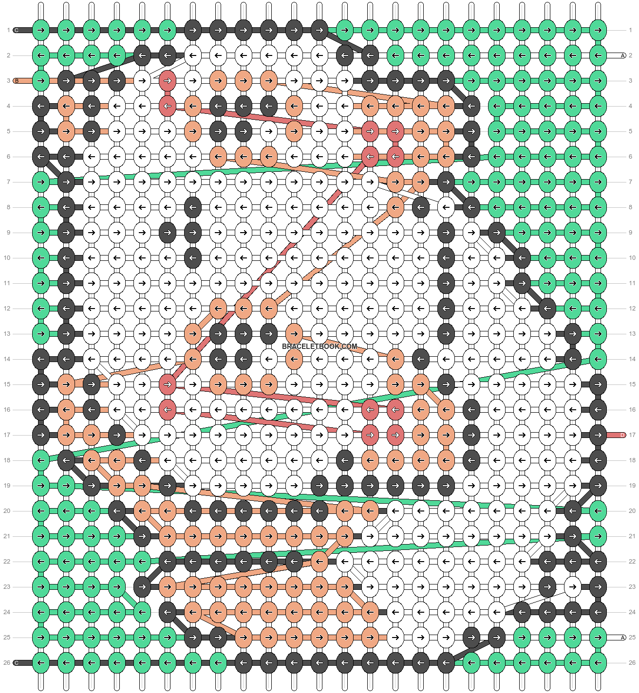 Alpha pattern #34678 variation #43186 pattern