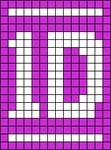 Alpha pattern #4246 variation #43256