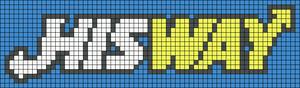 Alpha pattern #9498 variation #43615
