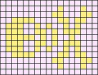 Alpha pattern #210 variation #44217