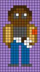 Alpha pattern #38071 variation #44834