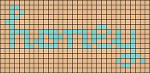 Alpha pattern #38758 variation #44839