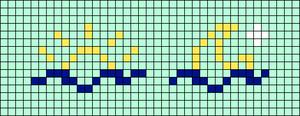 Alpha pattern #38322 variation #45374