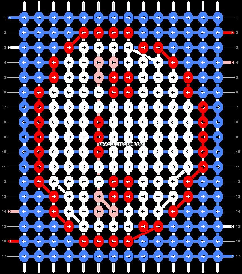 Alpha pattern #32682 variation #45574 pattern