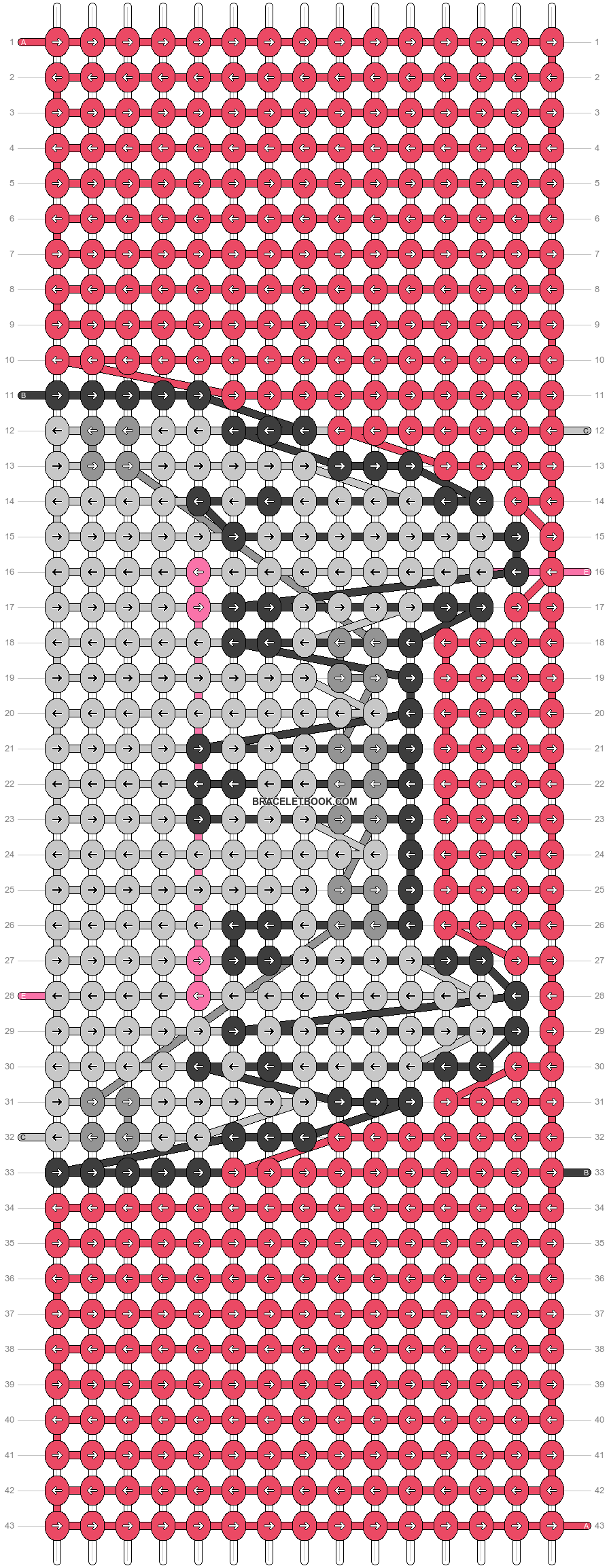 Alpha pattern #26406 variation #45835 pattern
