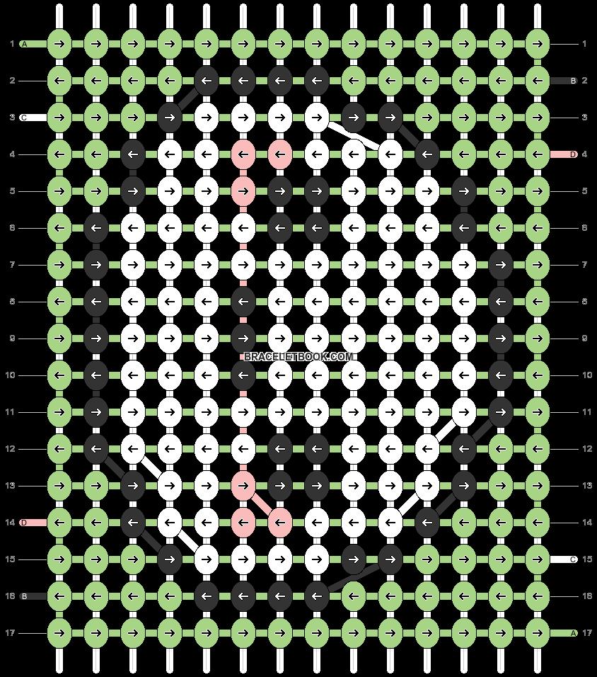Alpha pattern #32682 variation #46697 pattern