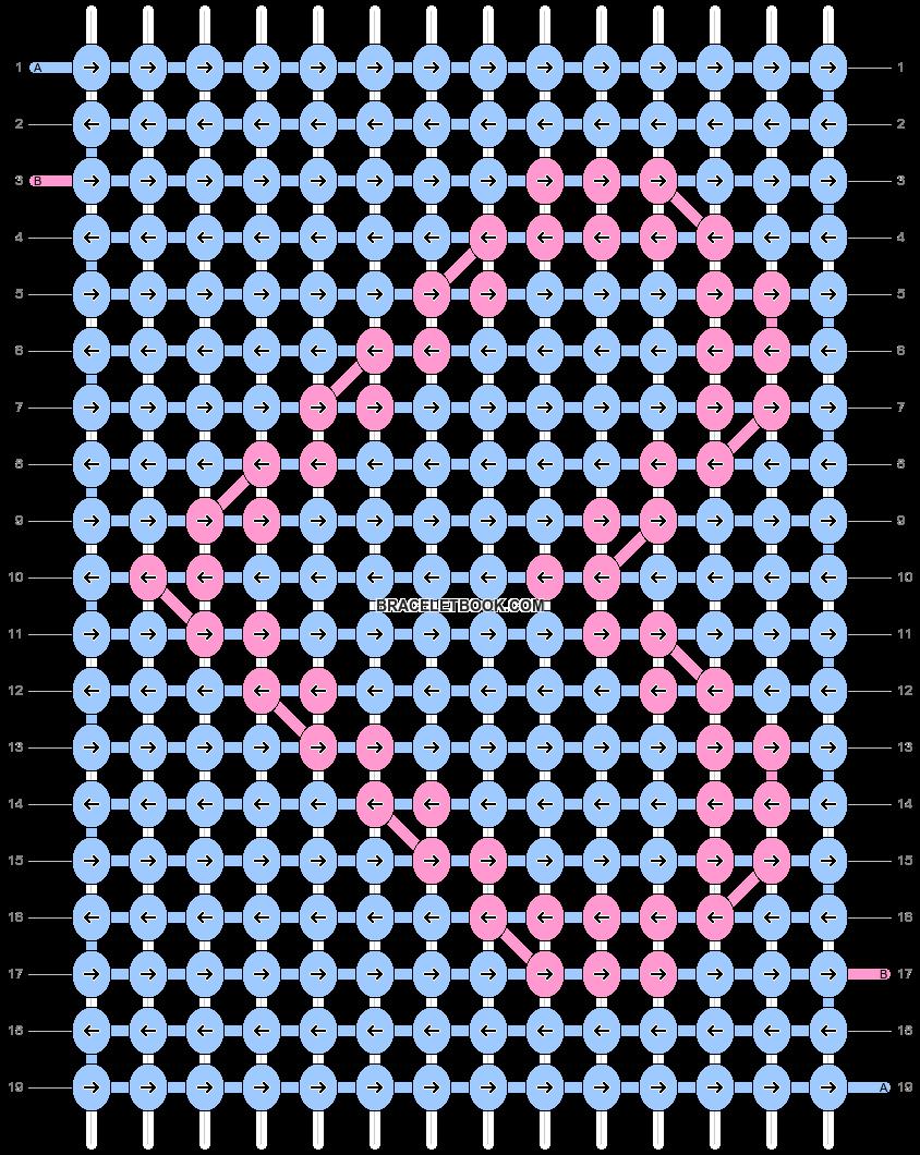 Alpha pattern #387 variation #46989 pattern