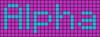 Alpha pattern #696 variation #48195