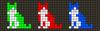 Alpha pattern #33767 variation #49138