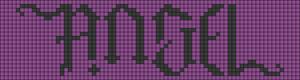 Alpha pattern #8668 variation #49769