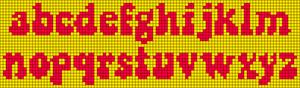 Alpha pattern #38069 variation #50735