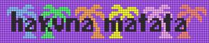 Alpha pattern #37192 variation #51544