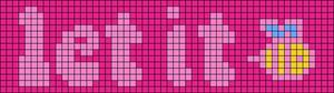 Alpha pattern #40595 variation #52217