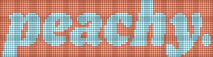 Alpha pattern #34837 variation #53180
