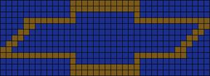 Alpha pattern #663 variation #53293