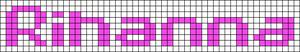 Alpha pattern #555 variation #53493