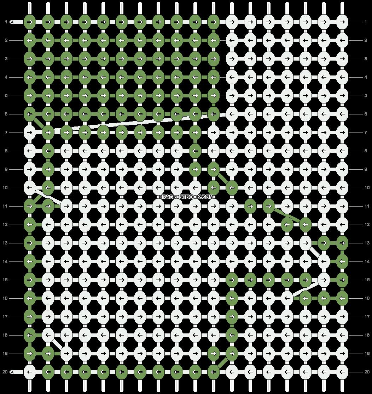 Alpha pattern #2664 variation #53834 pattern
