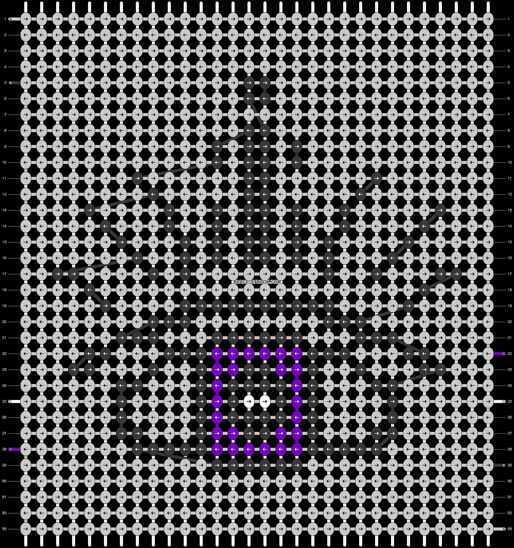 Alpha pattern #41356 variation #53875 pattern