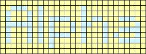 Alpha pattern #696 variation #55223