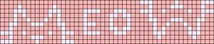 Alpha pattern #29169 variation #55662