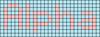 Alpha pattern #696 variation #55944