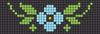 Alpha pattern #33800 variation #56399