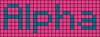 Alpha pattern #696 variation #56703