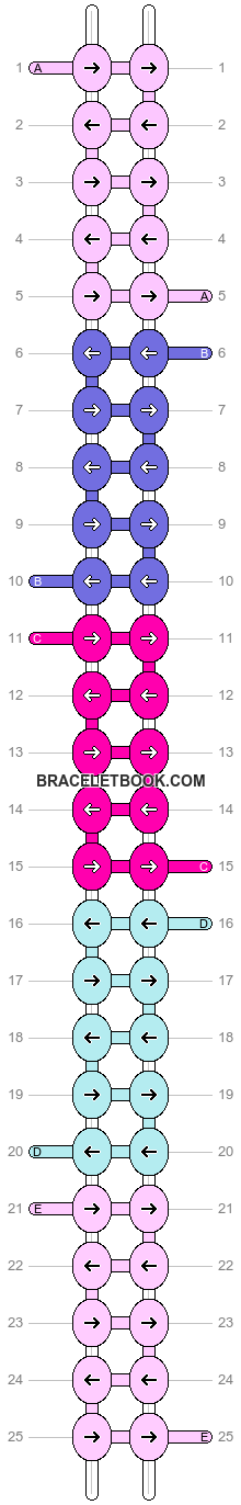 Alpha pattern #8454 variation #57520 pattern