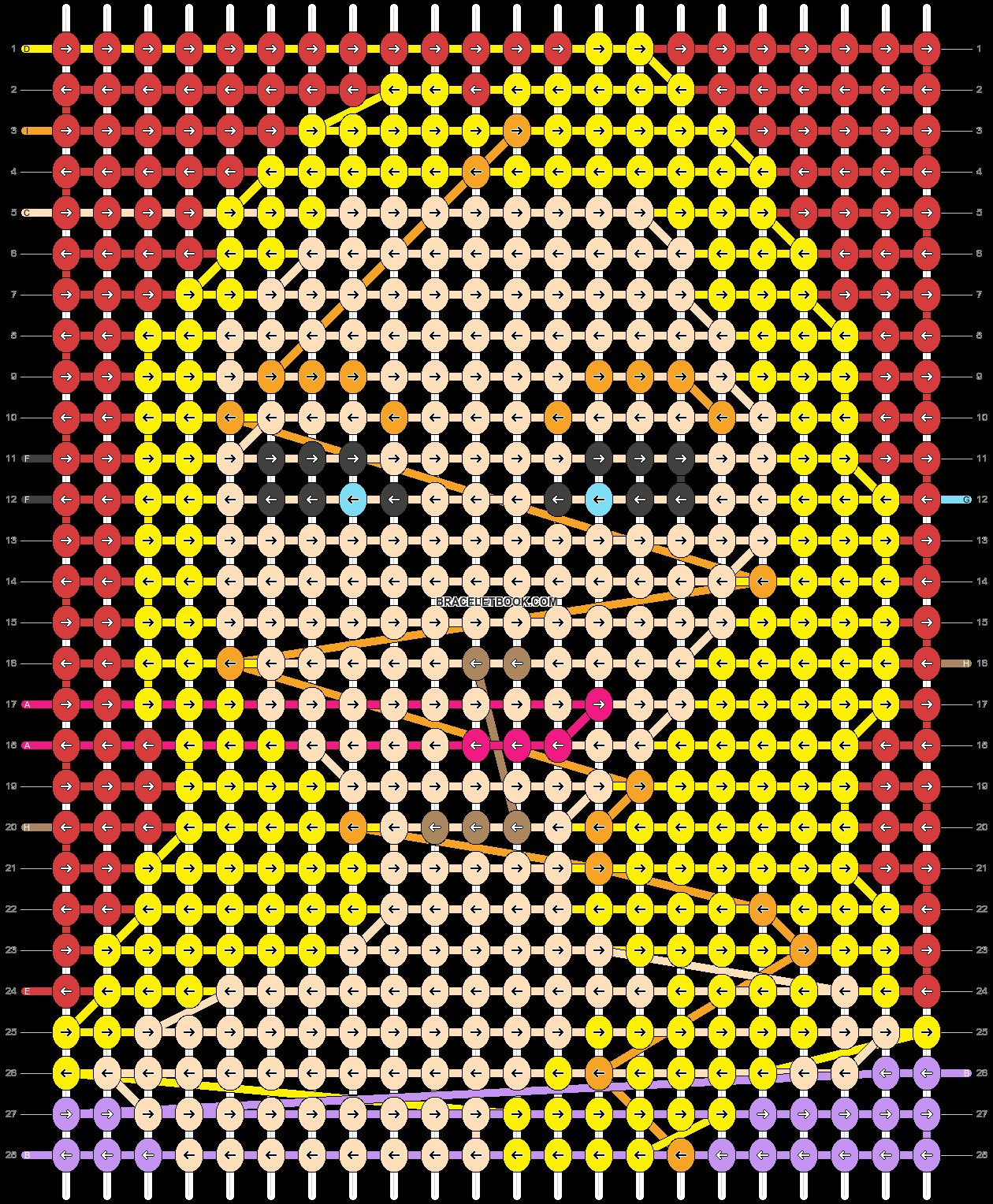 Alpha pattern #42307 variation #57854 pattern