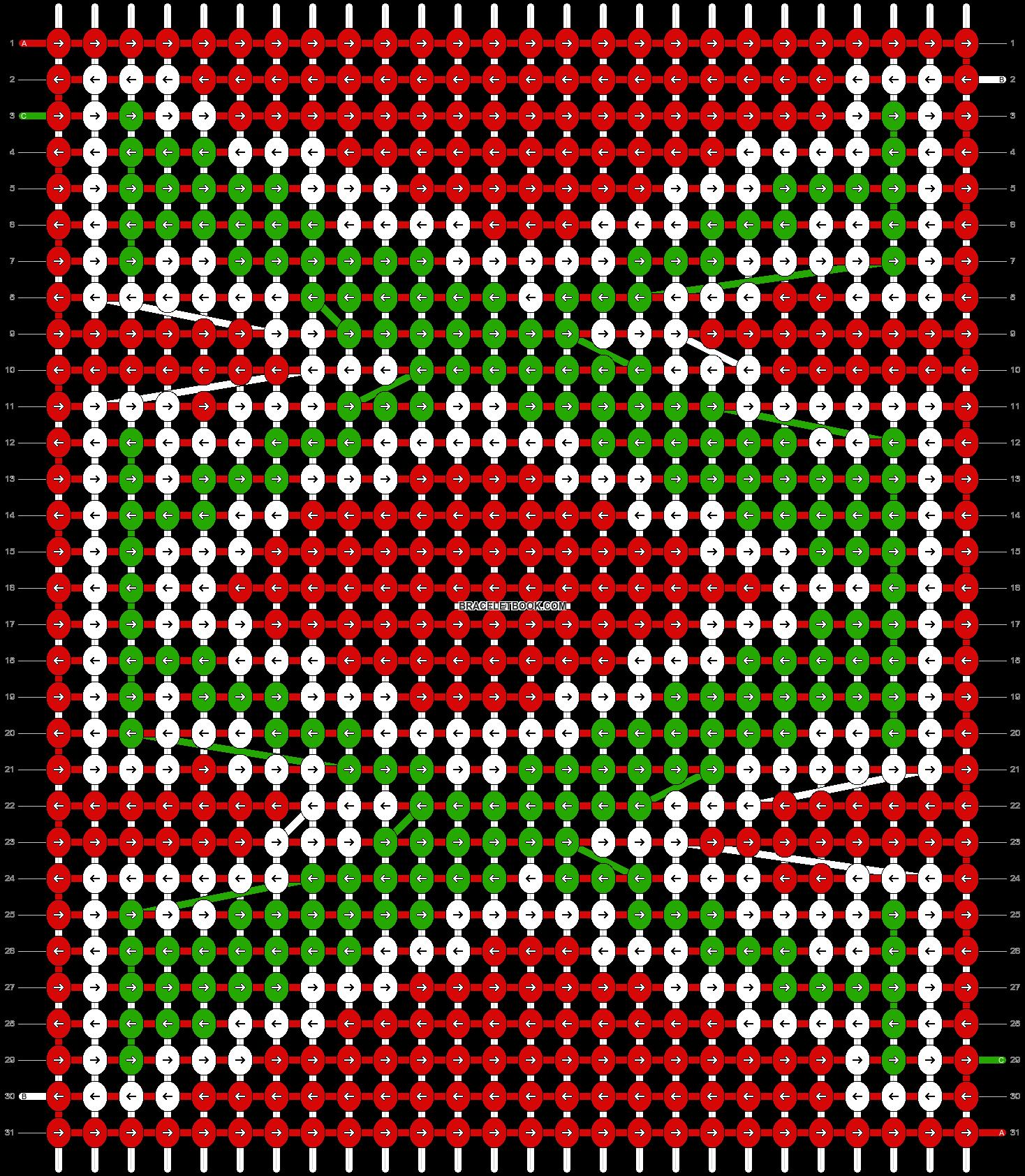Alpha pattern #42194 variation #57865 pattern