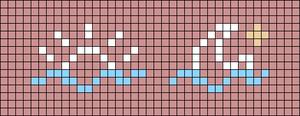 Alpha pattern #38322 variation #58168
