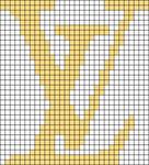 Alpha pattern #42964 variation #59808