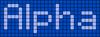 Alpha pattern #696 variation #60203
