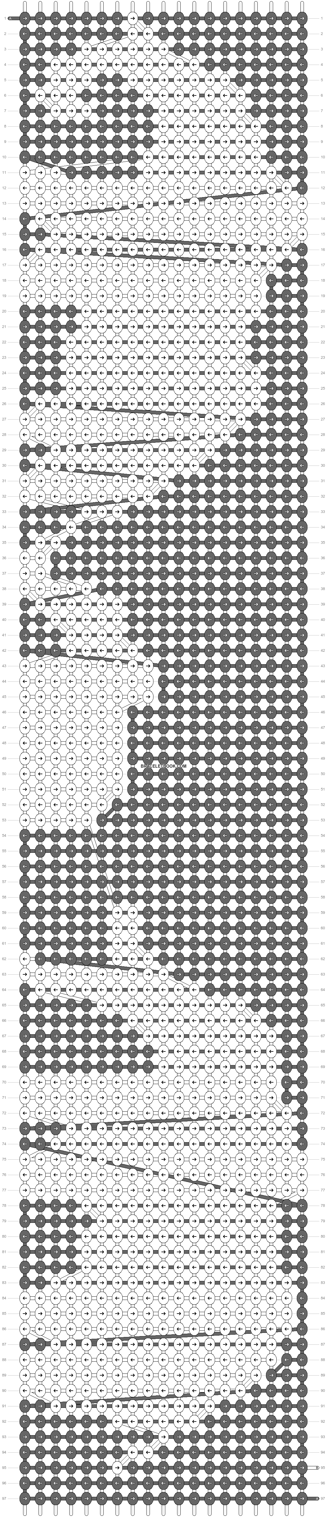 Alpha pattern #13611 variation #60800 pattern