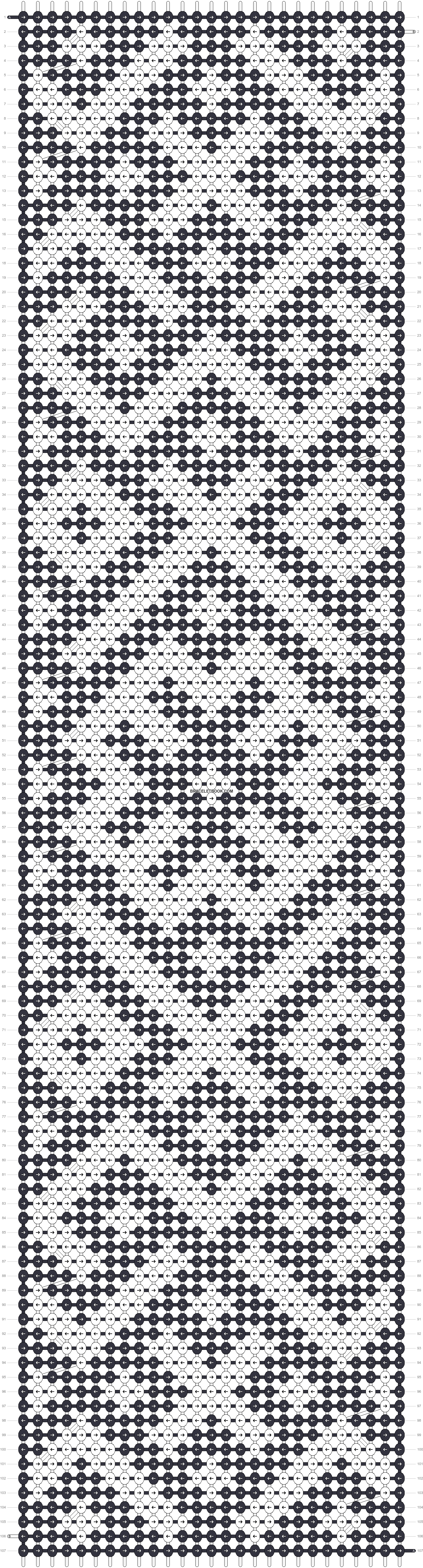 Alpha pattern #19070 variation #64072 pattern