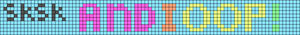 Alpha pattern #44945 variation #65737