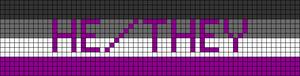 Alpha pattern #44983 variation #65900