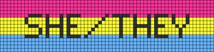 Alpha pattern #44985 variation #65906