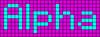Alpha pattern #696 variation #67025