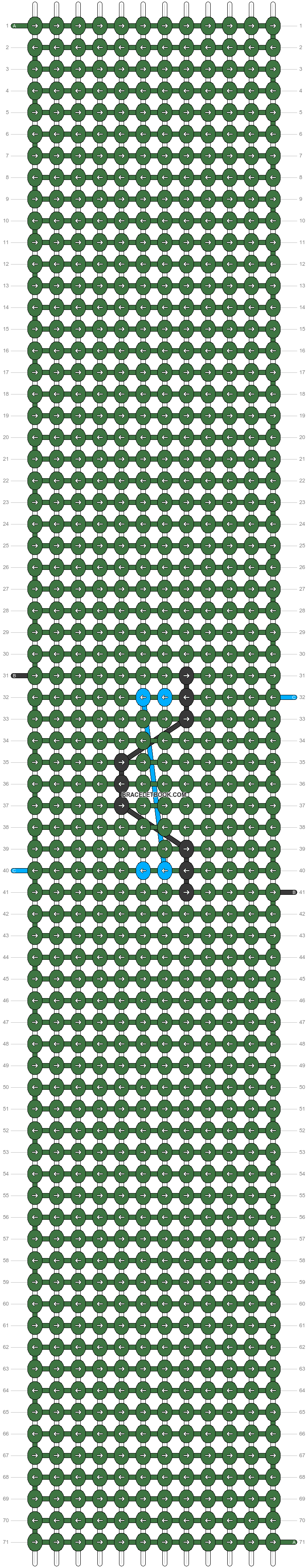 Alpha pattern #45646 variation #67637 pattern