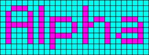 Alpha pattern #696 variation #68019
